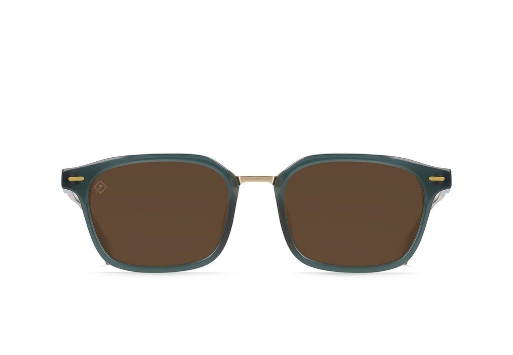 RAEN Bastien Cirus Vibrant Brown Polarised 53 Front