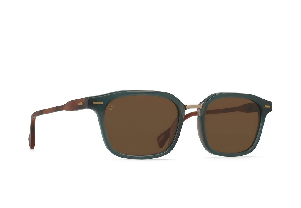 RAEN Bastien Cirus Vibrant Brown Polarised 53 Side Angle