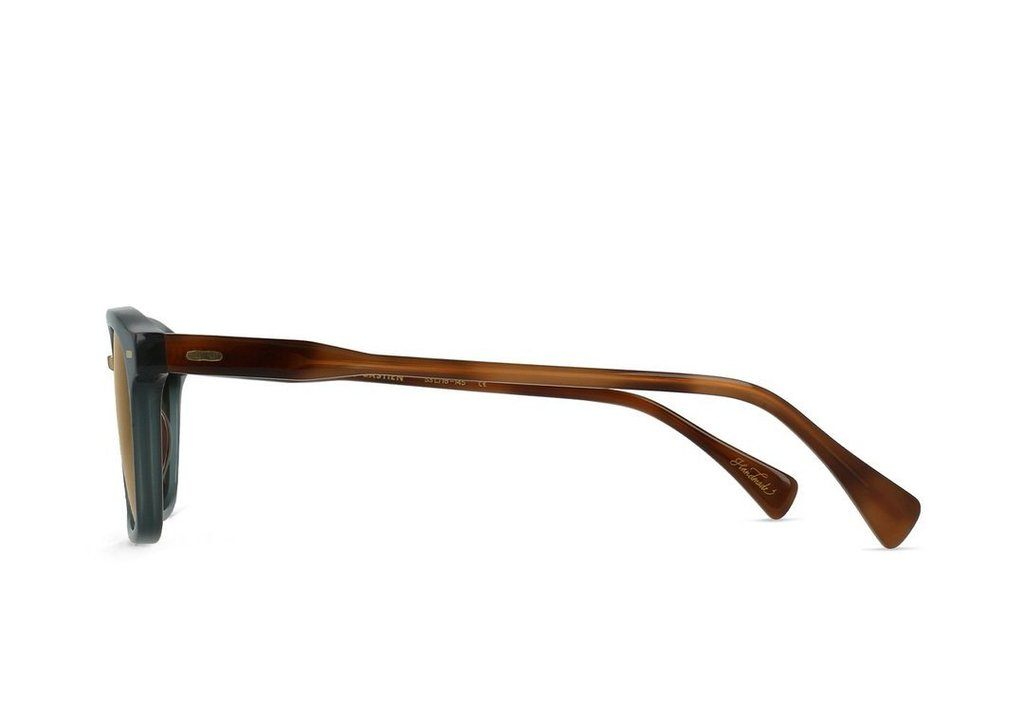 RAEN Bastien Cirus Vibrant Brown Polarised 53 Side