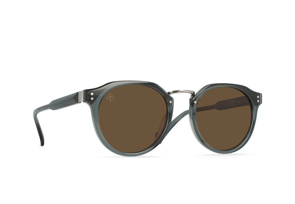 RAEN Remmy Alchemy Slate Brown Polarised 49 Side Angle