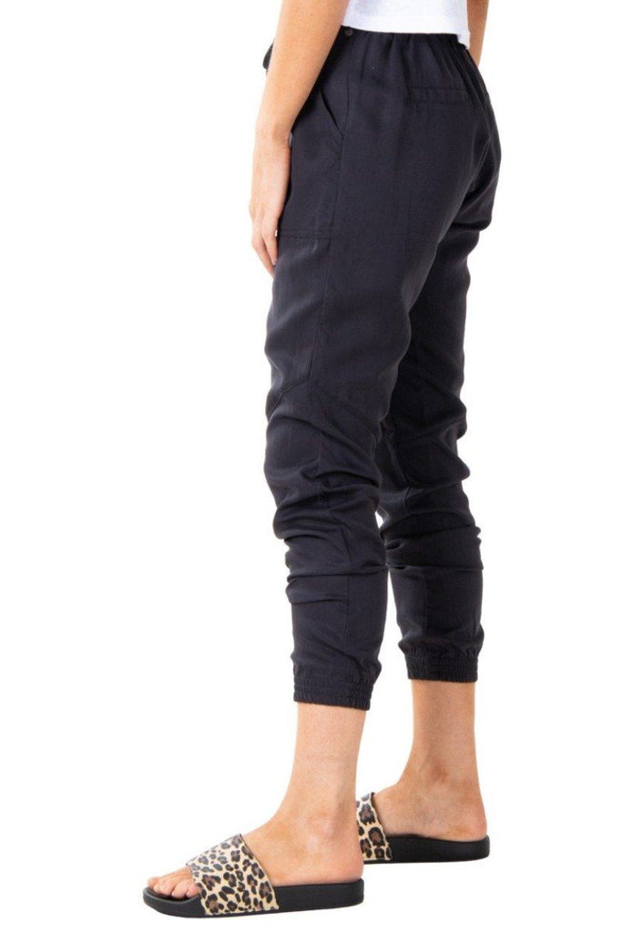 RUSTY Bounds Pant Blue Graphite Side Angle