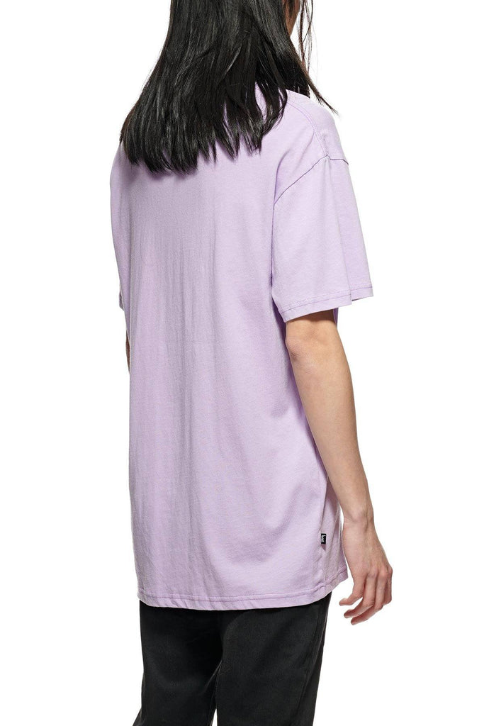 STUSSY Graffiti Pocket Tee Lilac back