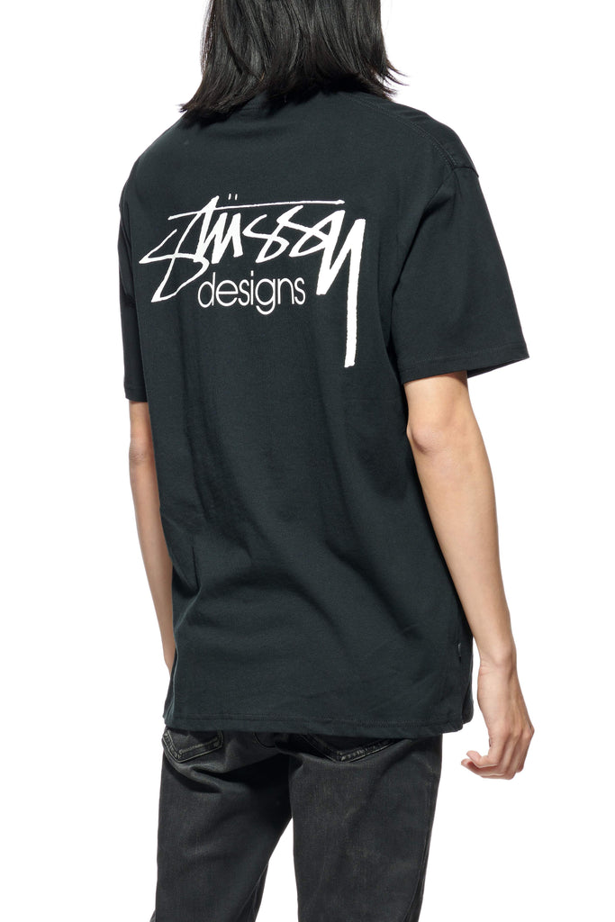 STUSSY Design Ss Tee Black Back