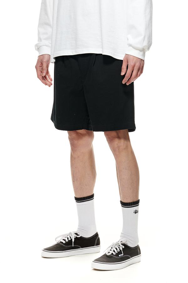 STUSSY Pin Drill Short Black Front