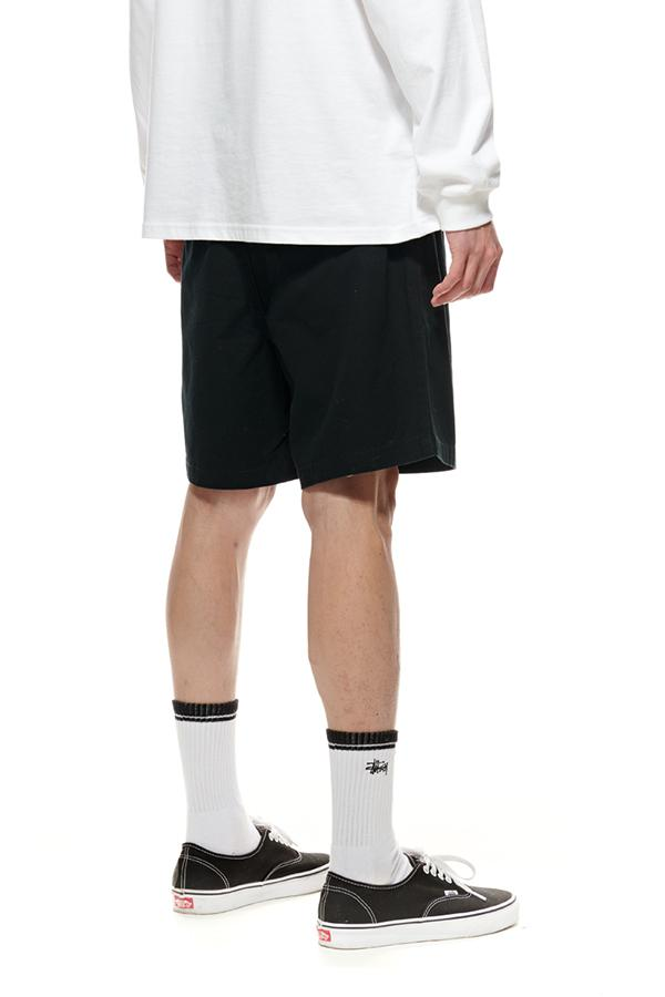 STUSSY Pin Drill Short Black Back