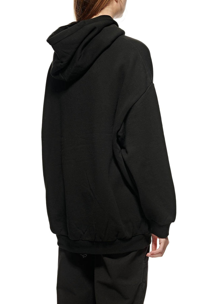 STUSSY Graffiti Os Hood Black Back