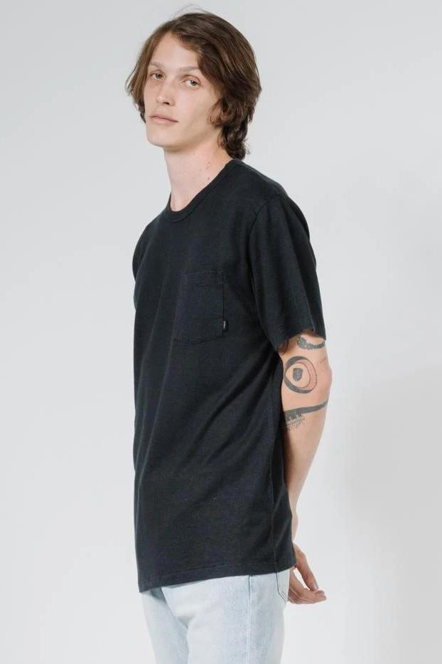 THRILLS Endless Merch Fit Pocket Tee Black Side