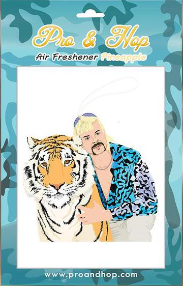 Pro & Hop Tiger King Air Freshener