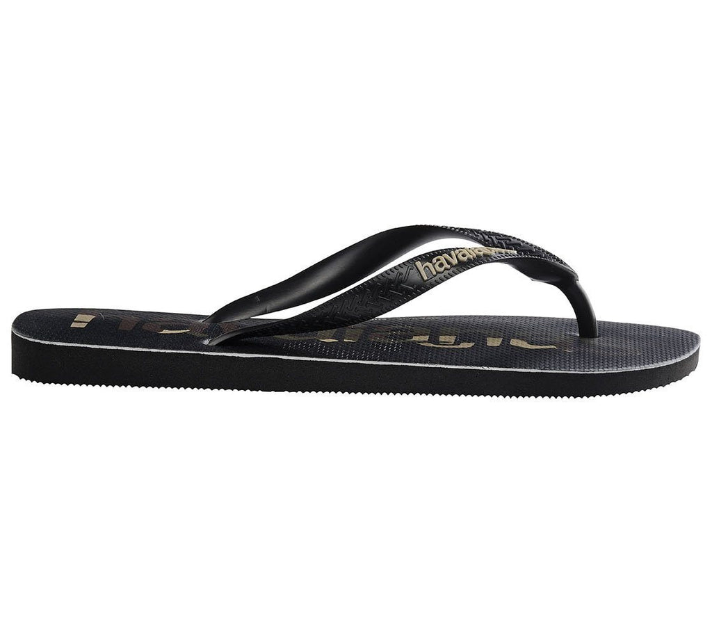 HAVAIANAS Top Logo Mania Black Camu Single Flat