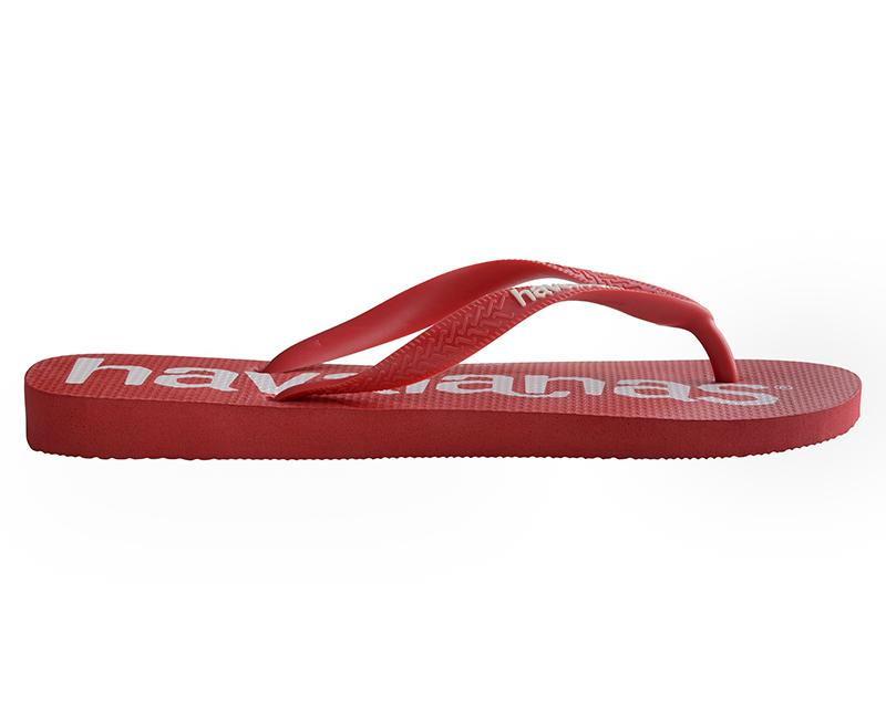 HAVAIANAS Top Logo Mania Red Single Flat