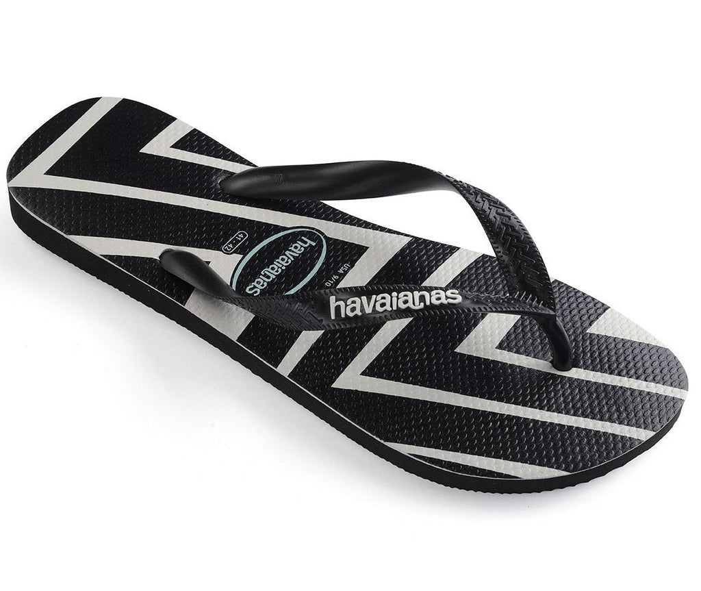 HAVAIANAS Top Zig Zag Black Single