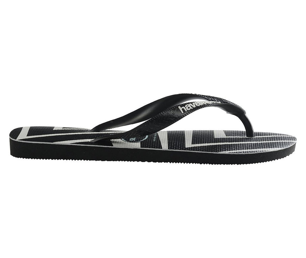 HAVAIANAS Top Zig Zag Black Single Flat