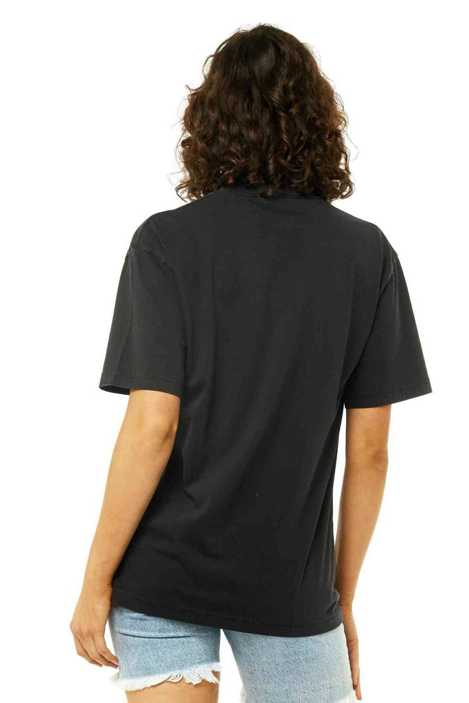 RUSTY Worldwide Tee Black back