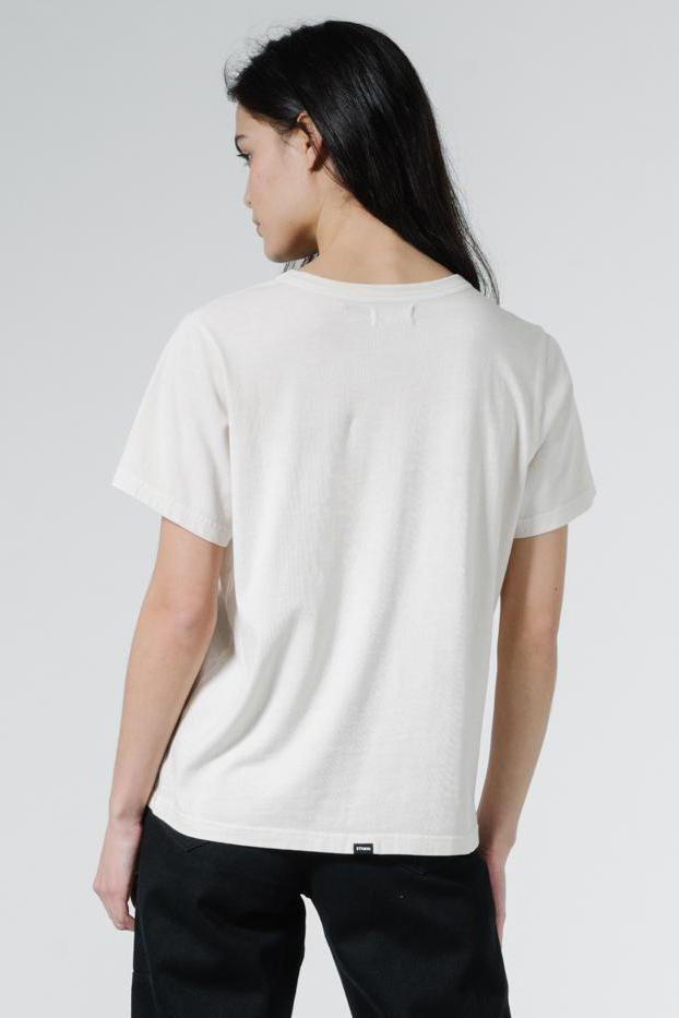 THRILLS Ops Relax Fit Tee Heritage White Back
