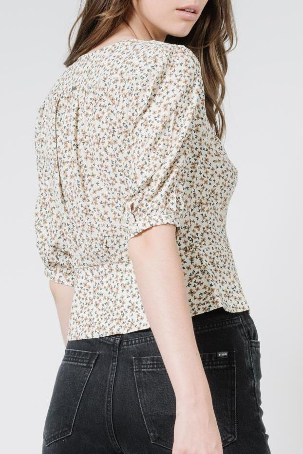 THRILLS Acacia Blouse Thrift White Back