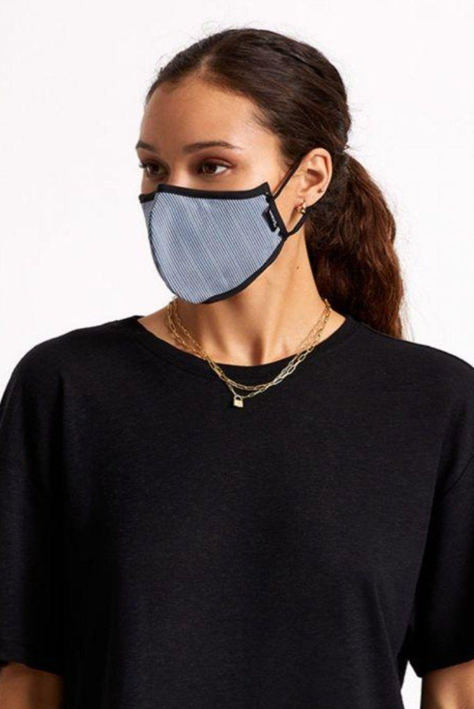 BRIXTON Antimicrobial Face Mask Engineer On Model