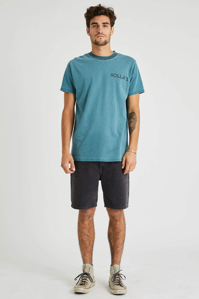 ROLLAS Lazy Boy Short Stone Black Front