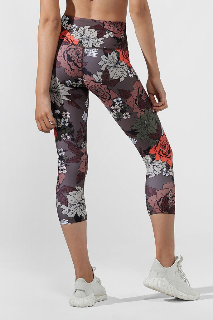 LORNA JANE Hyper Botanica 7 8 Tight - BASE Streetwear Wanaka