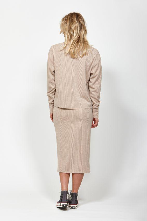 KETZ KE Nudge Skirt Camel Back