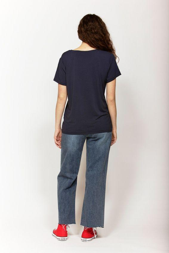 KETZ KE Perfect Tee Navy Back
