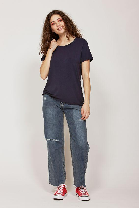 KETZ KE Perfect Tee Navy Front
