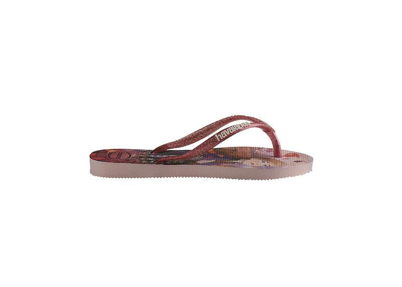 HAVAIANAS Kids Slim Frozen Crystal Rose Flat