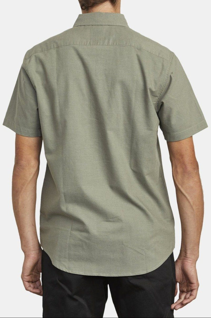 RVCA Thatll Do Street Ss Shirt Aloe Back