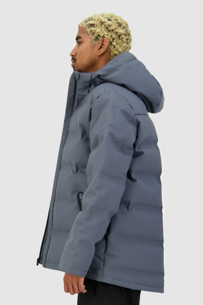 HUFFER Mens Superdown Jacket Boulder Side