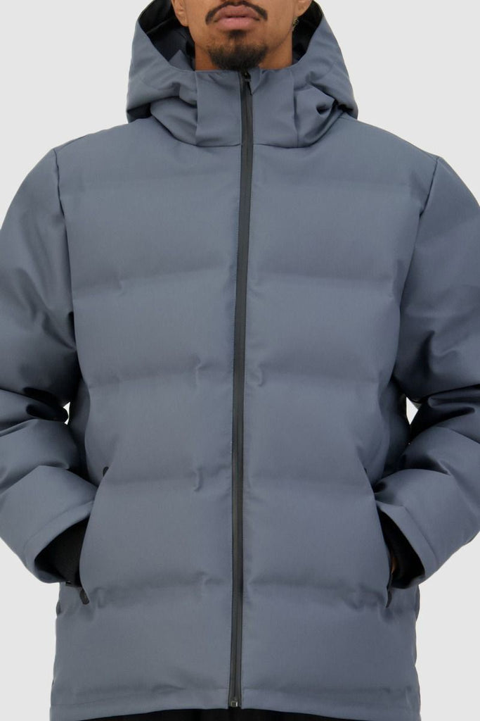 HUFFER Mens Superdown Jacket Boulder Close Up