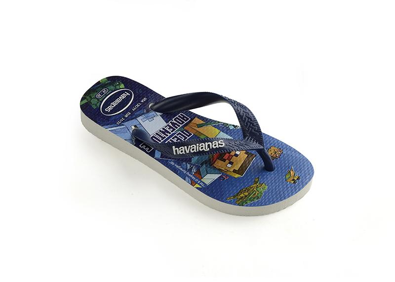 HAVAIANAS Kids Top Minecraft Navy Single