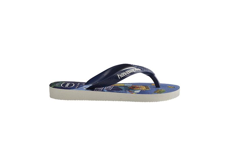 HAVAIANAS Kids Top Minecraft Navy Single Flat