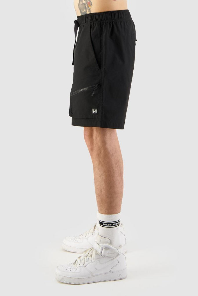 HUFFER Hike Short Black Side