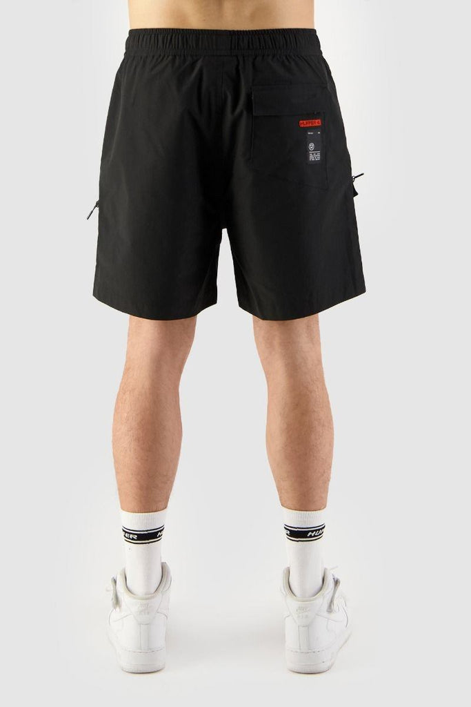 HUFFER Hike Short Black Back