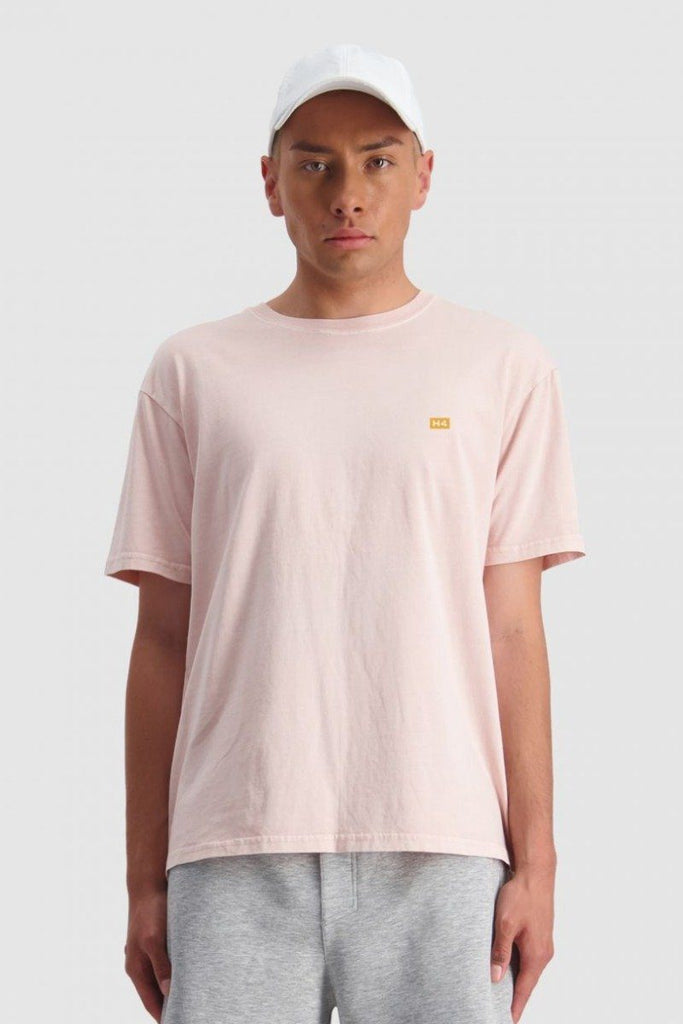 HUFFER Ground Sup Tee Gum Pink front