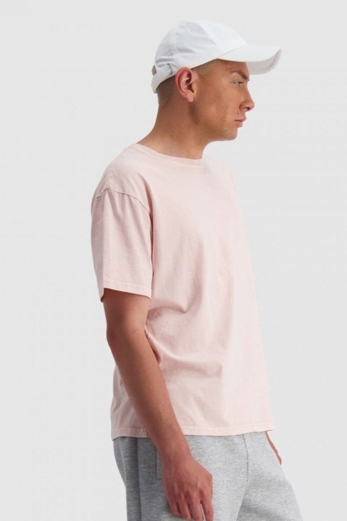 HUFFER Ground Sup Tee Gum Pink Side