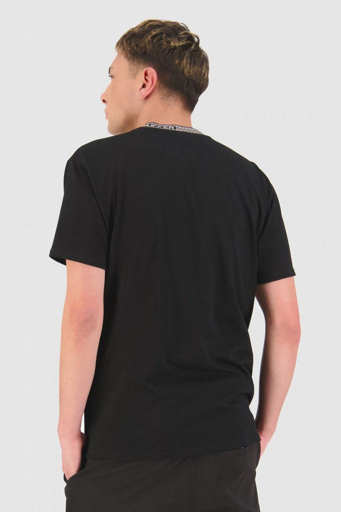 HUFFER Check It Sup Tee Black Back