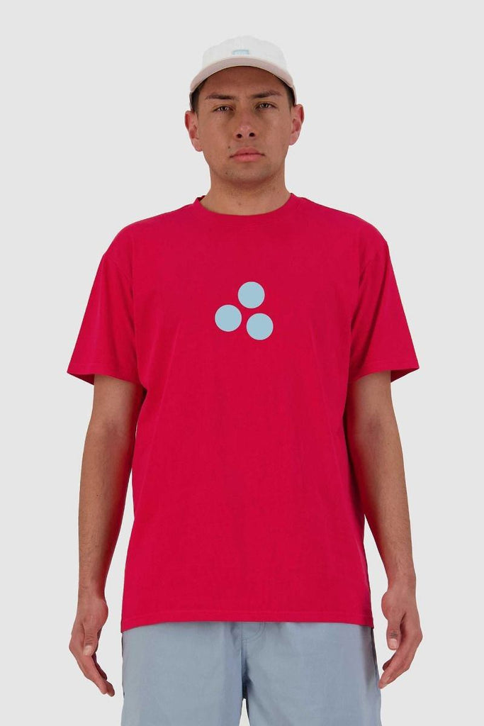 HUFFER 3 Ball Sup Tee Red Front