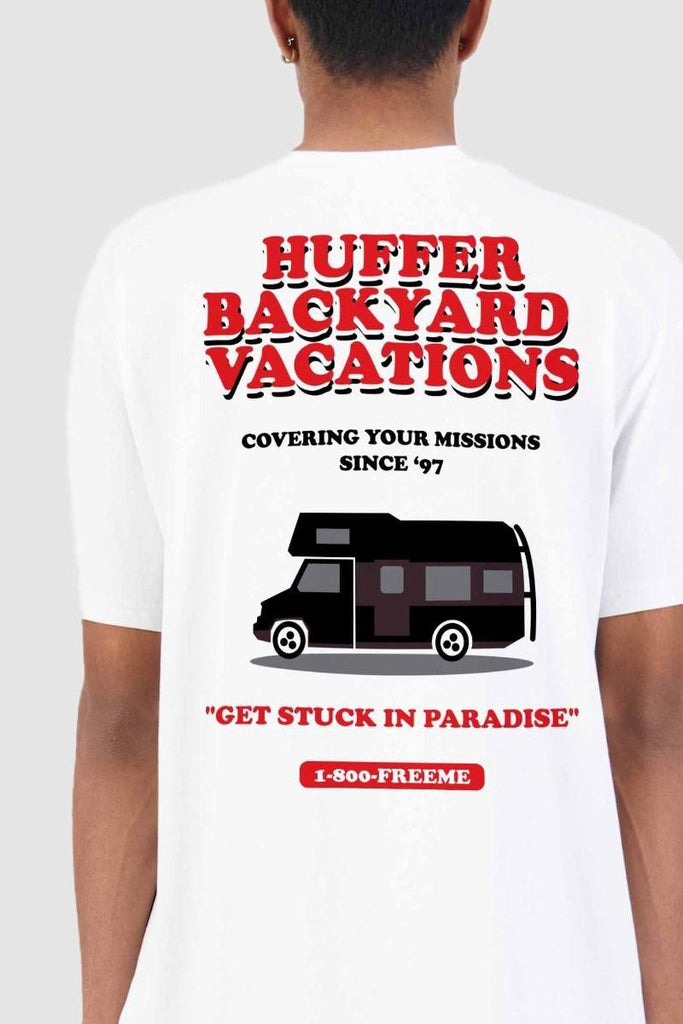 HUFFER  Sup Tee Vacation White Back