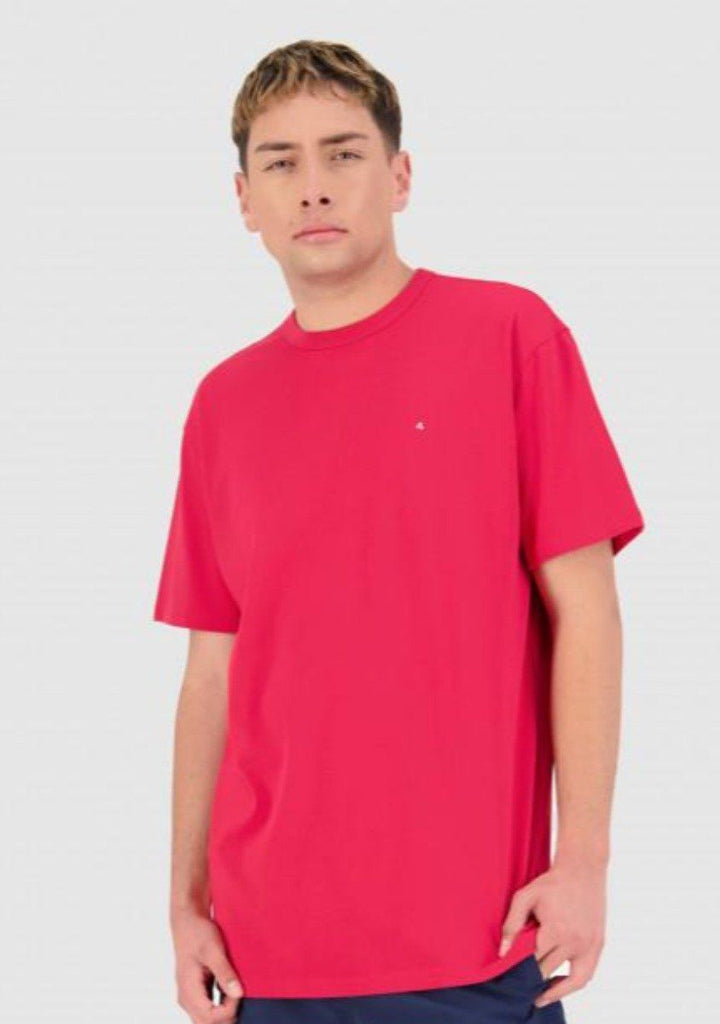 HUFFER Premiere 101 Tee Blood Red Front