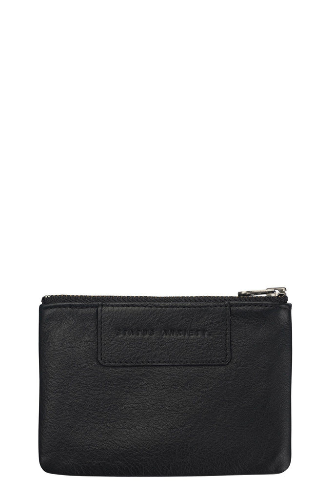STATUS ANXIETY Anarchy Purse Black Front