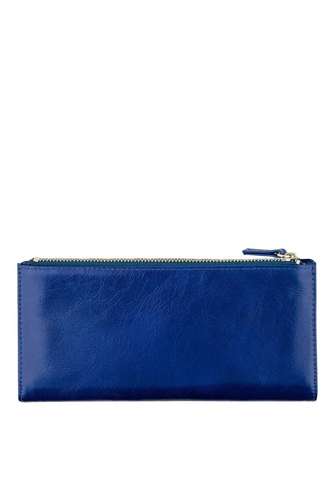 STATUS ANXIETY Dakota Wallet Royale Blue Back