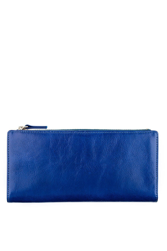 STATUS ANXIETY Dakota Wallet Royale Blue Front