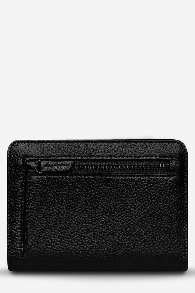 STATUS ANXIETY Popular Problems Wallet Black Back