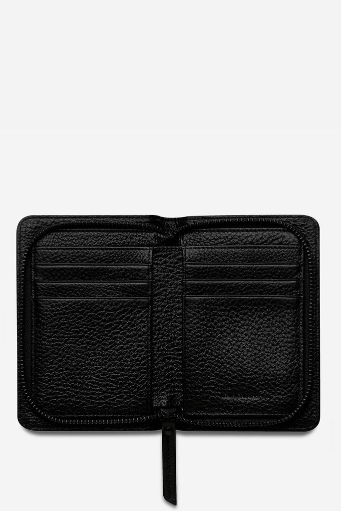 STATUS ANXIETY Popular Problems Wallet Black Open