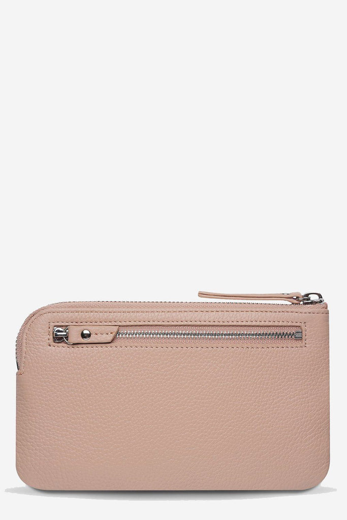 STATUS ANXIETY Smoke And Mirrors Pouch Dusty Pink Back