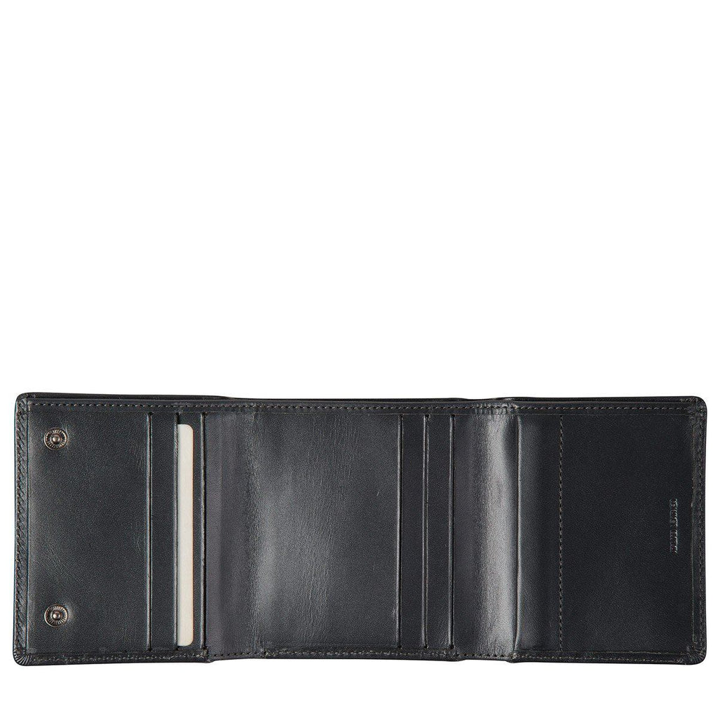 STATUS ANXIETY Vincent Wallet Charcoal Open