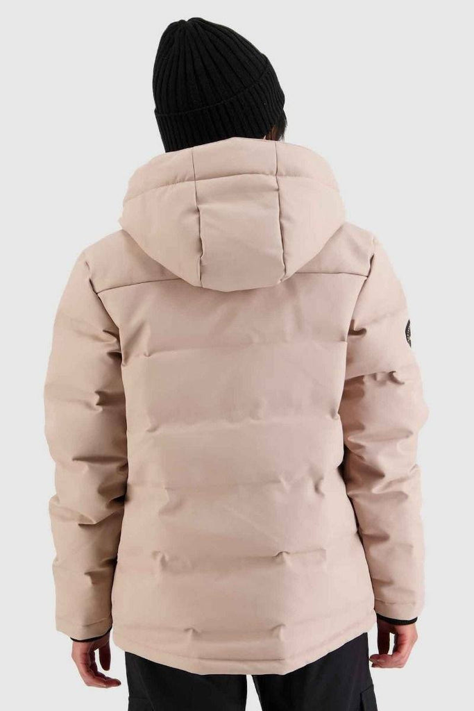 HUFFER Wms Superdown Jacket Dusky Pink Back