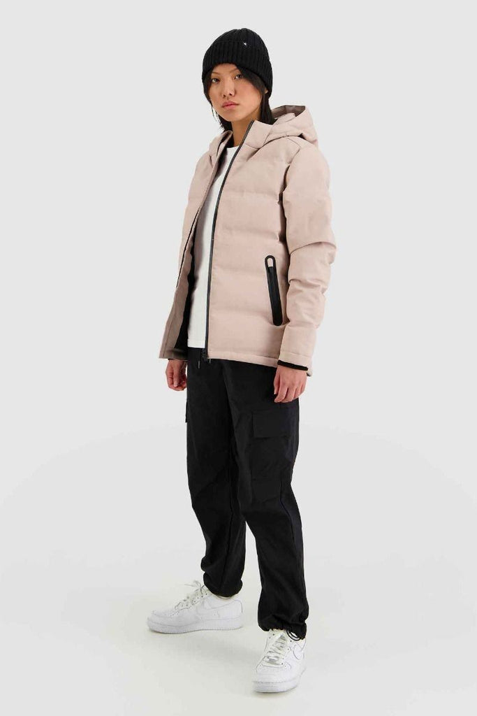 HUFFER Wms Superdown Jacket Dusky Pink side Full