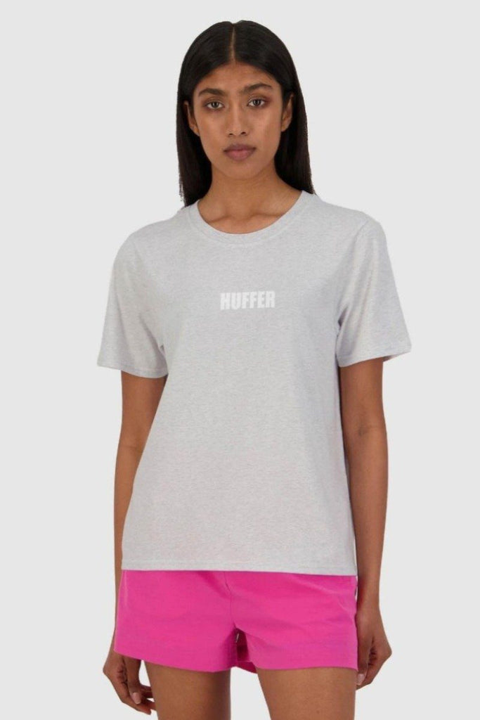 HUFFER Centric Stella Tee Silvermarle Front