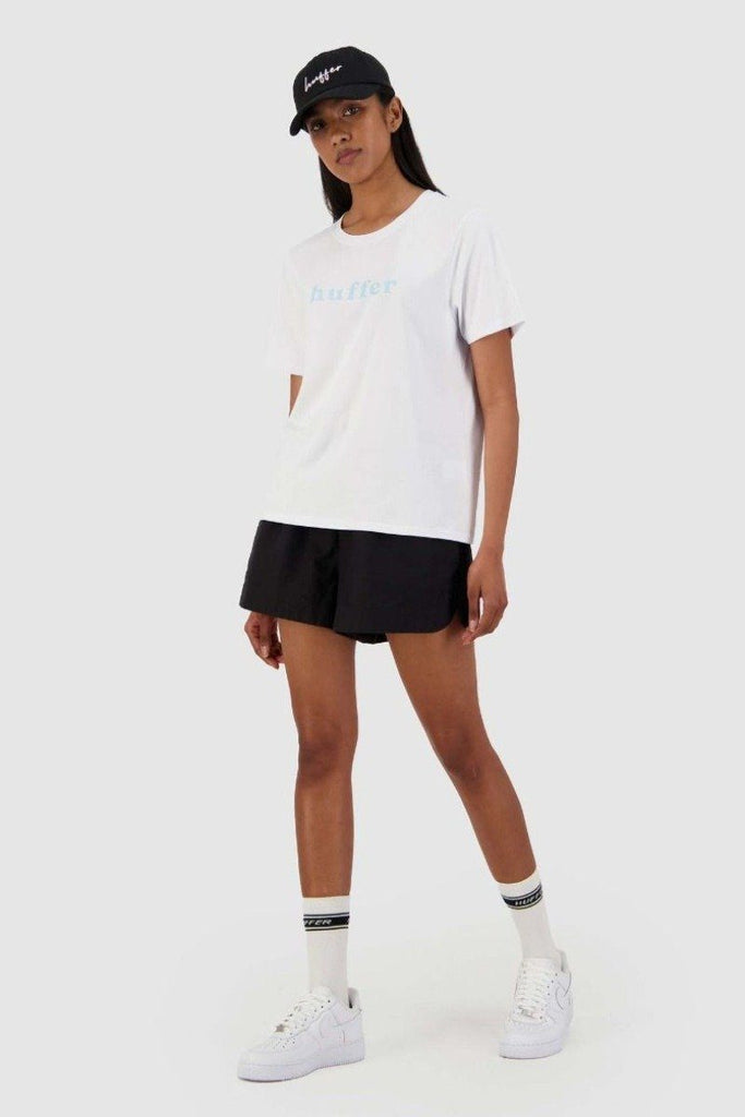 HUFFER Pitch Stella Tee White Front Full